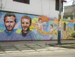 mural z męczennikami