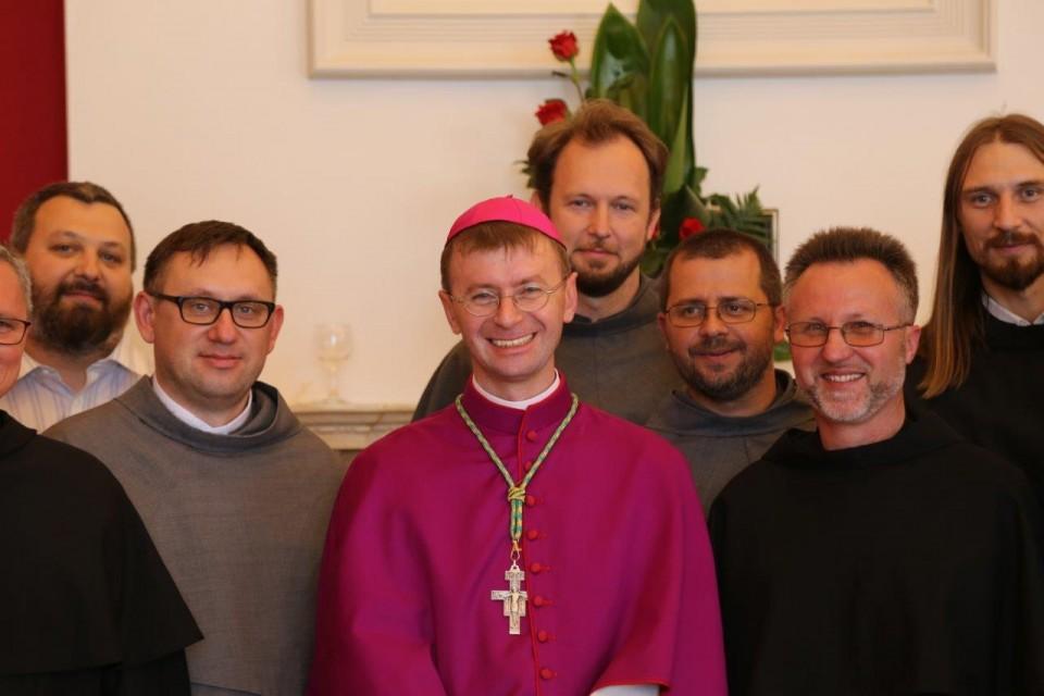 sakra biskupia o. Edwarda Kawy