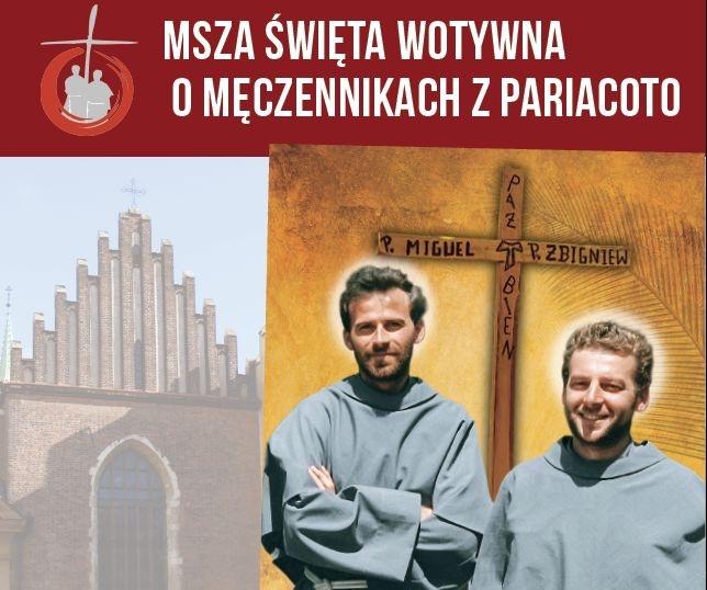 Msza Święta o Męczennikach z Pariacoto