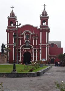 św. Róża - jej sanktuarium