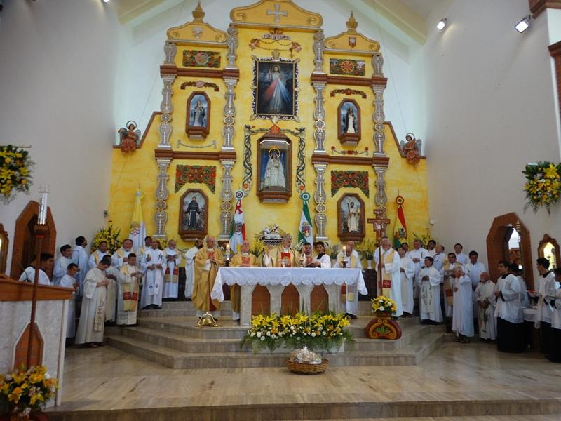 czterdzieści lat franciszkanów w Montero