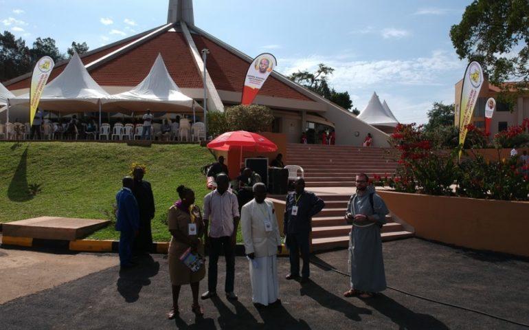 konsekracja kościoła w Munyonyo