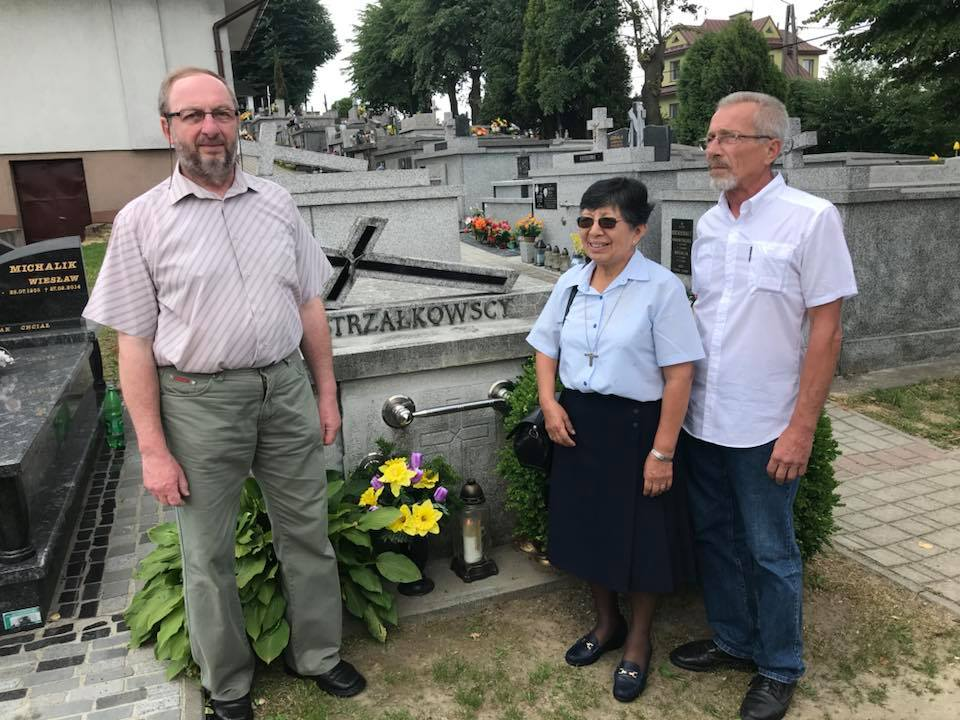 S. Berta z braćmi bł. Zbigniewa