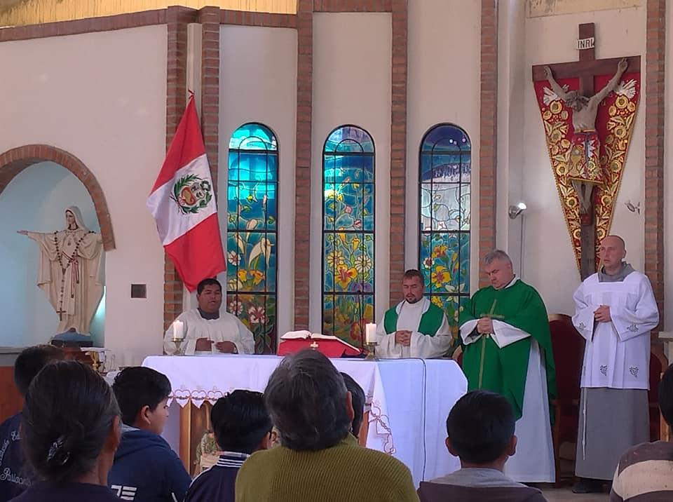 Sekretarz Nuncjatury Apostolskiej w Pariacoto