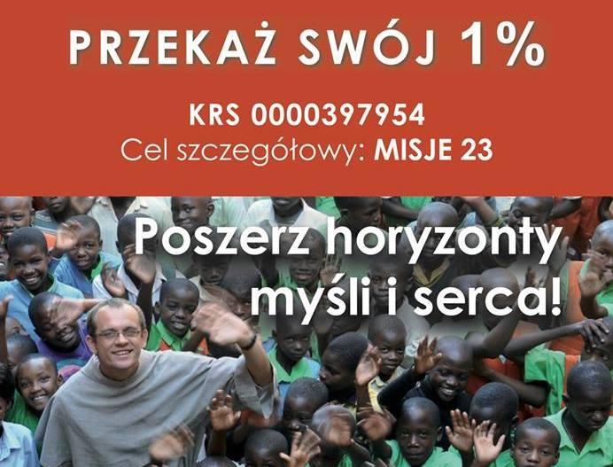 1% dla naszych misji
