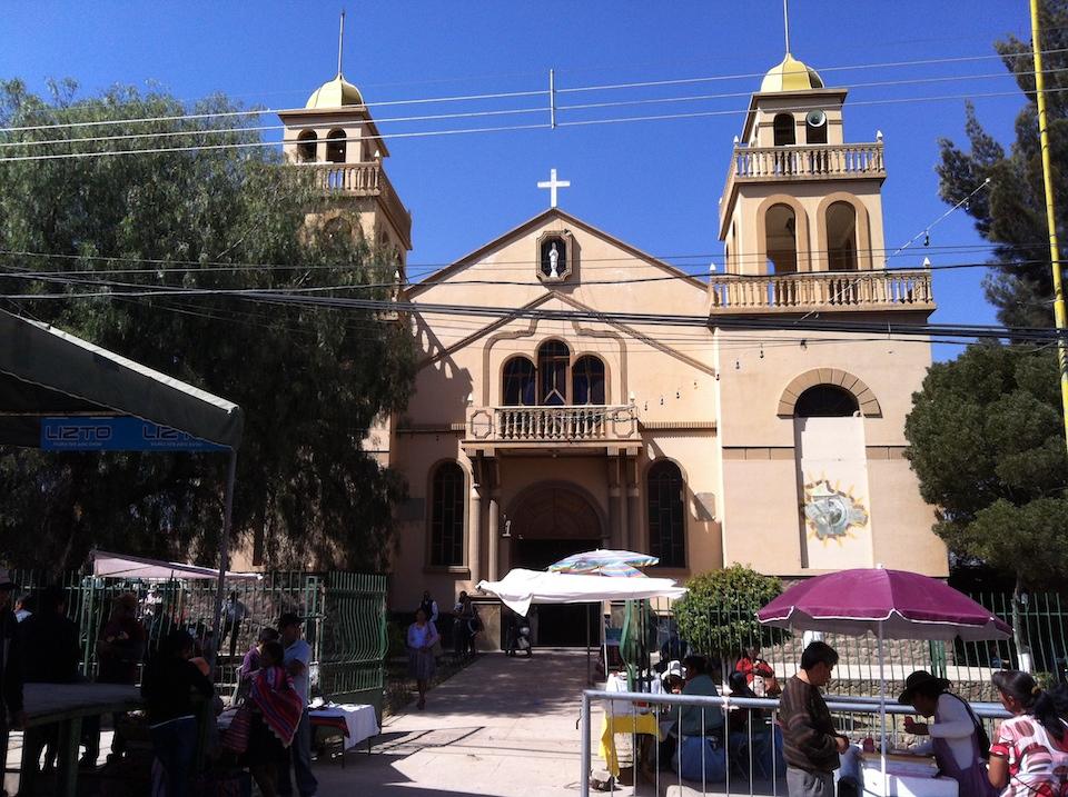 Parafia w Cochabamba