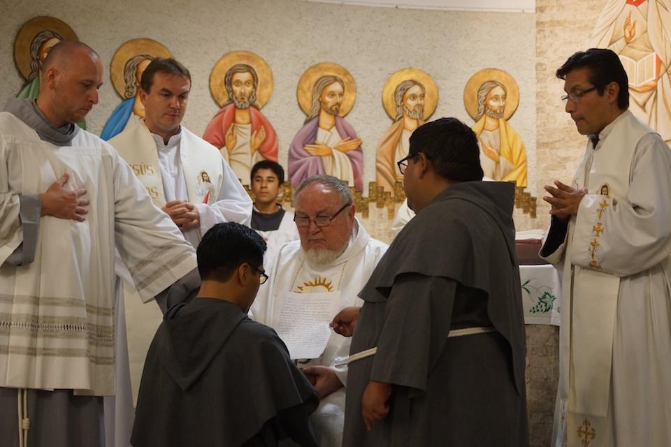 Śluby zakonne w Limie